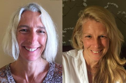 Image of Joint Fellows, Sandra Barefoot and Ruth Chitty (l-r)