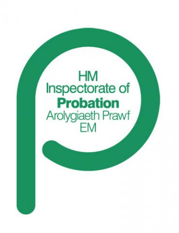 Logo for HM Inspectorate of Probation