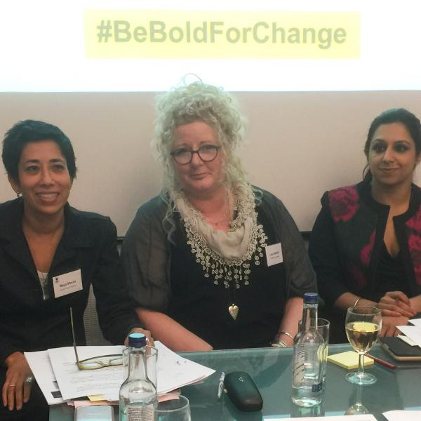 Image of Fellow Maya Sikand, Academic Lucy Baldwin & Barrister Paramjit Ahluwalia