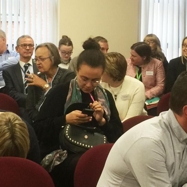 Belfast seminar audience