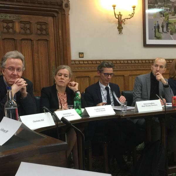 House of Commons Round Table - Audience 4